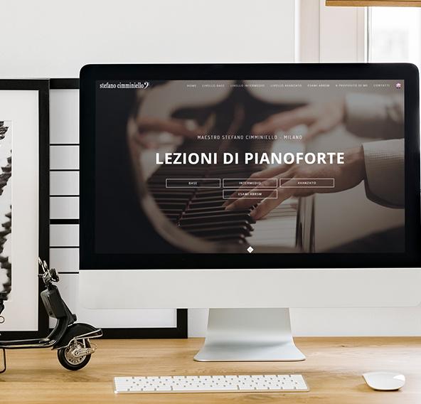 Sito Web Insegnante Pianoforte